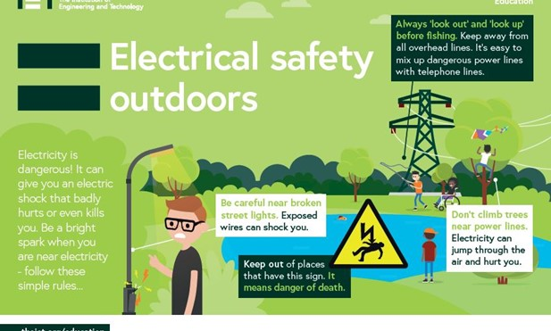 Electrical safety outdoors