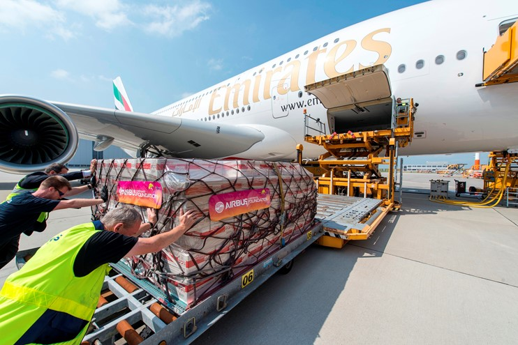 A380 cargo loading